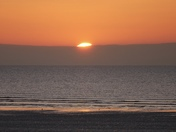 Sunset sequence  of events  3 of 3 - Brean Down