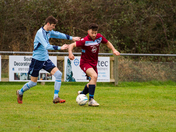 Beer Albion Vs Feniton - football action from 7th January, 2017