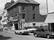Staddons on Budleigh High Street - 1987