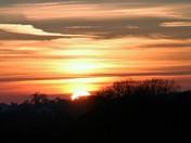 Sunset over Burgh