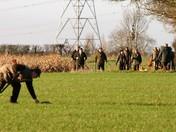 Pheasant shoot in Burgh