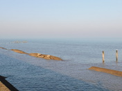 Calm seas of Ness Point