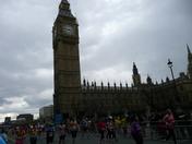 Marathon runners London