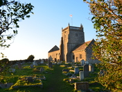 Evening Walk around St Nicholas Church Uphill