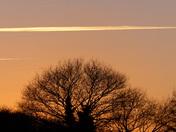 Beautiful Sky As The Sunset