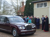 The Queen and The Duke of Edinburgh at West Newton