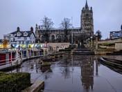 Rain in Norwich
