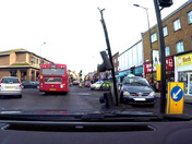 Car crashes into traffic light in hornchurch town centre