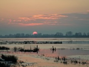 Sunset at Welney