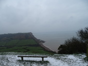 Sidmouth in the snow
