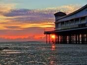 Pier Sunset.