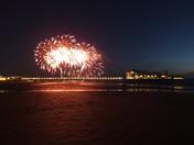 Fireworks over Grand Pier
