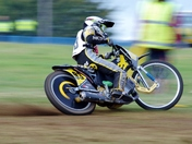 Slow shutter speed to show movement on these Grass-track and Motocross shots