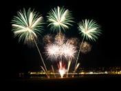 Half Term Fireworks at Weston Super Mare Pier