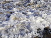 Flowing tide at Cromer