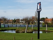 Views of Thorpeness on a beautiful sunny day.