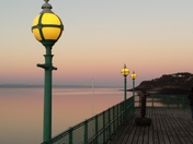 Sunset on Clevedon Pier