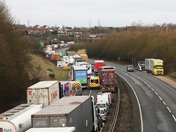 The A12 at Capel St Mary and Copdock when the Orwell Bridge is closed - part 3