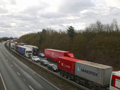 The A12 at Capel St Mary and Copdock when the Orwell Bridge is closed - part 4