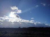 Storm Doris approaching Norwich