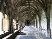 Architecture: Cathedral Cloisters.