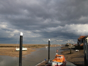 Storm Clouds Over Wells-Next-The-Sea