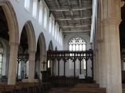 Blythburgh Church view inside