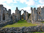 Architecture. Castle Acre Priory