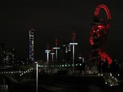 A Walk Through Queen Elizabeth Olympic Park At Night