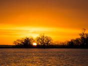 Highbridge reservoir Sunrise