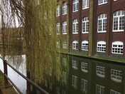 Norwich University of Arts Wensum reflections