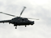 LYNX HELICOPTERS BID FAREWELL TO WESTON SUPER MARE