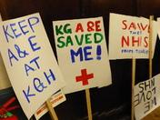 Save A&E of King George Hospital