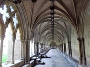 HERE AT NORWICH CATHEDRAL PART 3  ( THE CLOISTERS part 1)