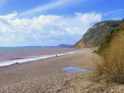 Weston Beach Sidmouth