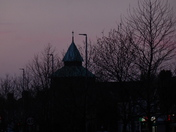 God`s House in the Evening