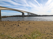 Spring morning at the Orwell Bridge