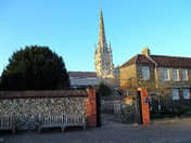 HERE AT NORWICH CATHEDRAL   PART 6  - FROM THE UPPER  TO THE LOWER PRECINCT
