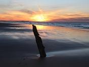 Brancaster Beach sunset