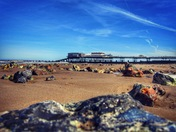 Cromer Pier basking in Mothers Day Sunshine