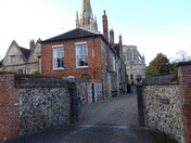 HERE AT NORWICH CATHEDRAL - PART 7  ( THE LOWER PRECINCT