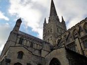 HERE AT NORWICH CATHEDRAL - PART 9 - THE EAST SIDE