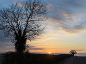 Hemblington setting Sun