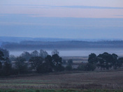 Misty end of the day