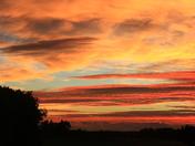 Autumn Colours-Autumn sunset