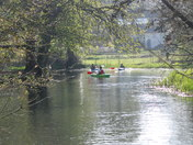 Messing about on the river at Cringleford