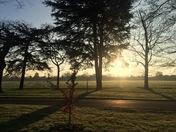 Sunday morning run in Osterley park