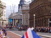 London Athletes' Parade - Monday 10th September 2012