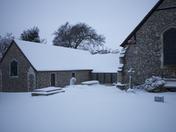Snow fall in Biggin Hill & Keston 2012