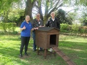 Wayland Men's Shed made us a chicken shed